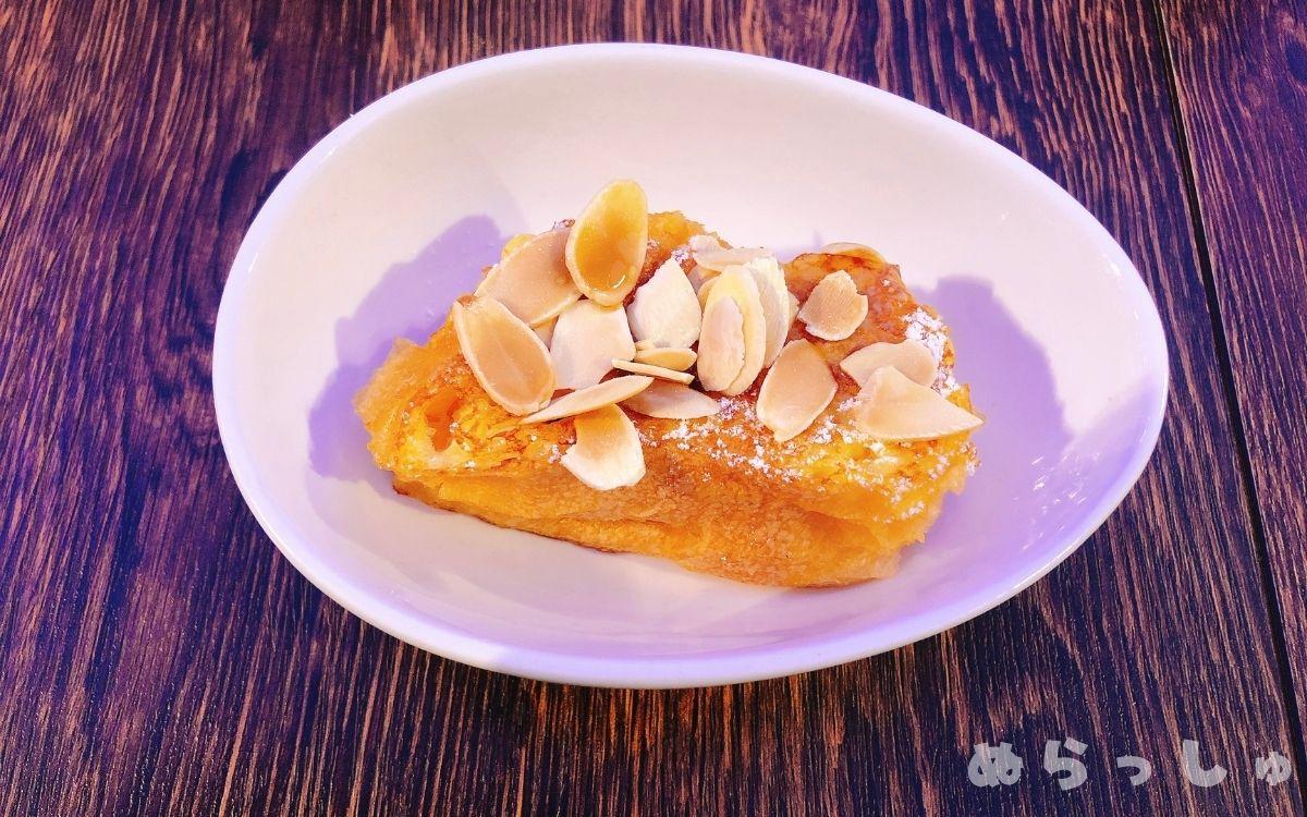 杉乃井ホテル・シーダパレスの朝食バイキングのフレンチトースト