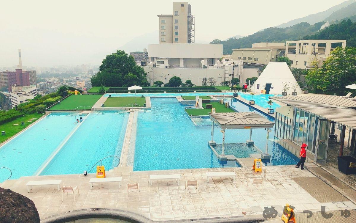 杉乃井ホテルのアクアガーデンの写真