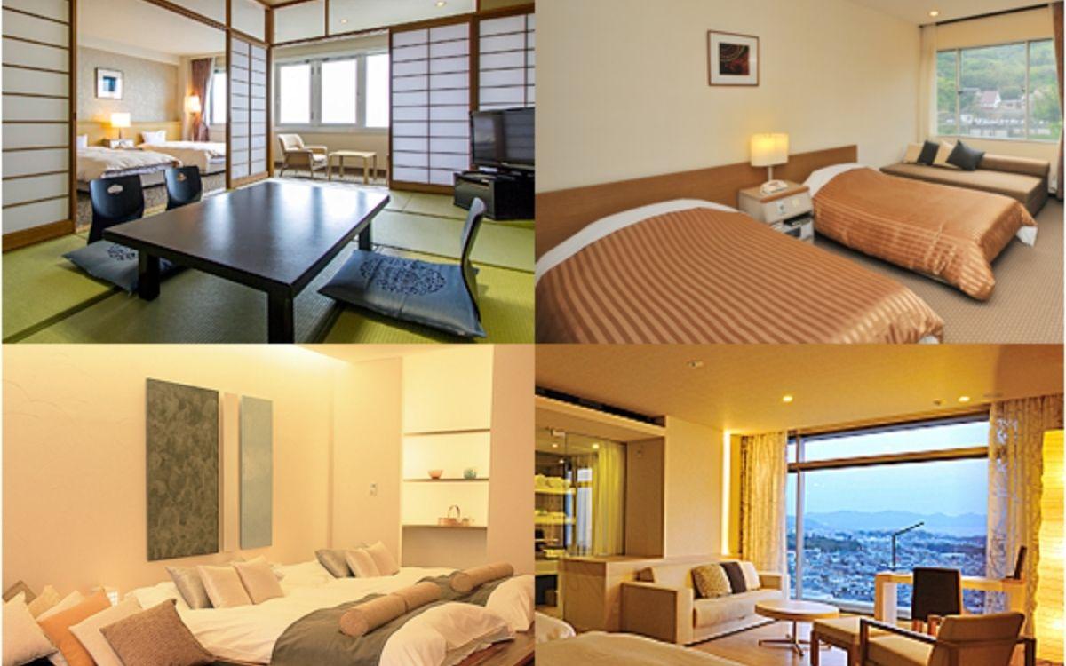 杉乃井ホテルの客室の写真