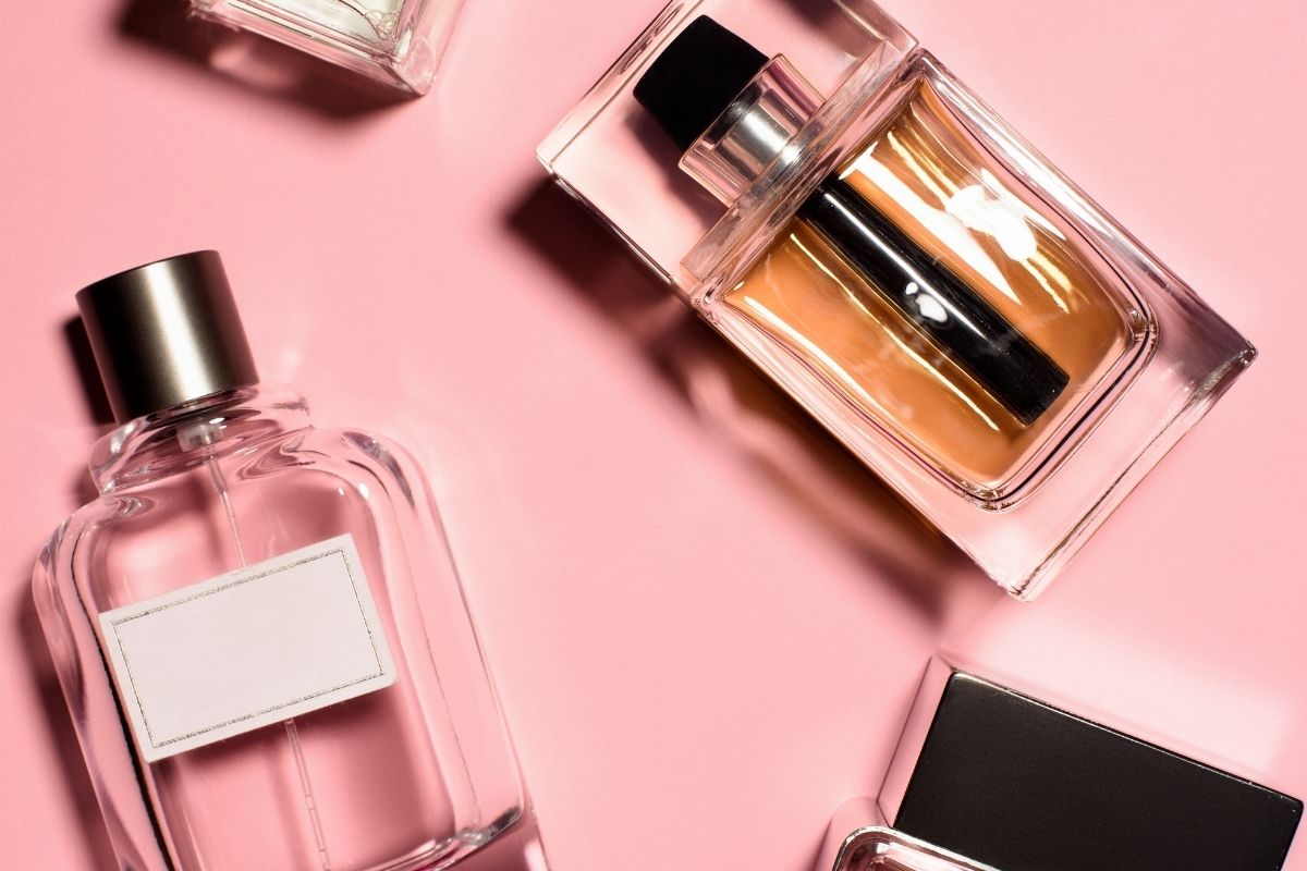 複数の香水