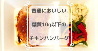 【糖質9.7g】ゴーフードの塩ダレチキンハンバーグを食べた感想