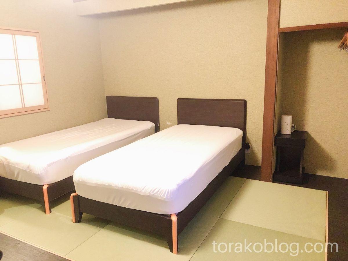 こしかの温泉(家族風呂)の休憩室